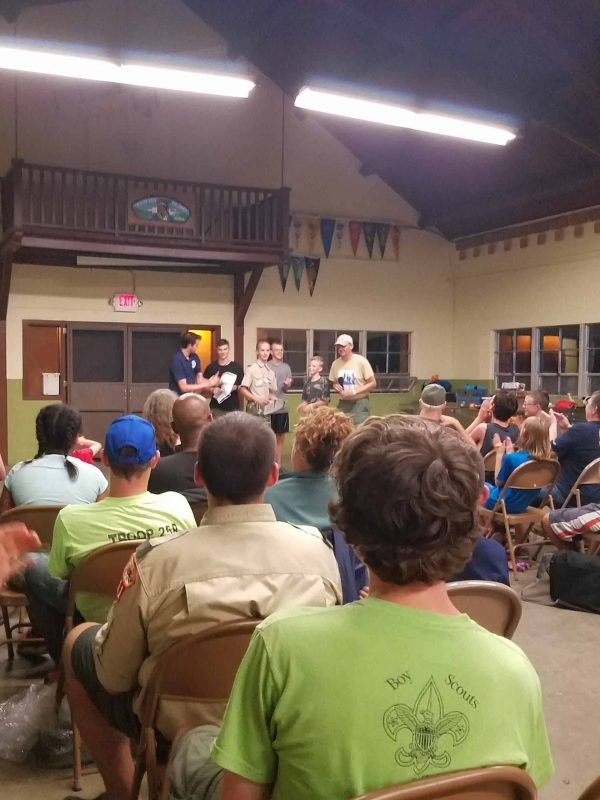 Skit Time is Always A Good Time with the Boy Scouts - Bring your Sense of Humor.  Sing Songs, Laugh, Celebrate Successes and Build Life Long Friends.
